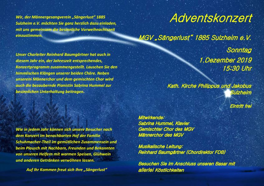 Flyer Adventskonzert2019 S1
